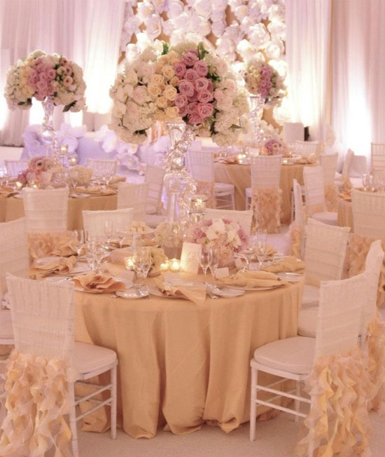 Romantic wedding decorations romantic decoration - Decorations de mariage ...