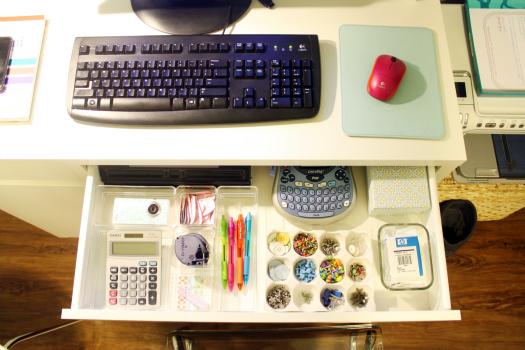 Organisation tips office nanda bezerra - Desk organize ...