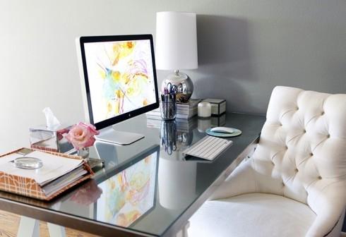 Organised Desk E
