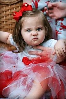 menina zangada